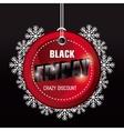 Black friday shopping season vector image vector image
