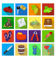 business tourism recreation and other web icon vector image vector image