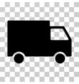 cargo van icon vector image vector image