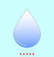 drop set it is color icon vector image