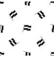 egyptian flag pattern seamless black vector image vector image