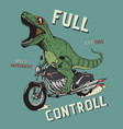 full control vector image vector image