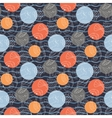 Marine pattern with polka dots