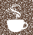 the concept coffee background vector image