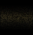 abstract of dark background on gold circle shape vector image vector image