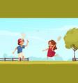 badminton on lawn