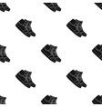 Basketball shoesbasketball single icon in black