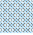 Blue and dark grey grid seamless background vector image vector image
