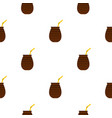 chimarrao for mate or terere pattern seamless vector image vector image