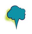 comics book dialog empty cloud vector image