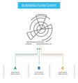 data diagram performance point reference business vector image