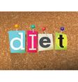Diet Concept vector image vector image