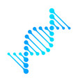 dna icon rna gene fun funny chromosome line vector image vector image