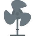 home fan icon flat isolated vector image vector image