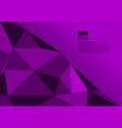 purple color polygon abstract background with vector image