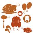 Chicken Barbecue Grill vector image