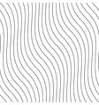 creative seamless outline pattern striped vector image vector image