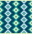ethnic seamless geometric pattern vector image vector image