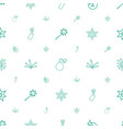 fireworks icons pattern seamless white background vector image vector image