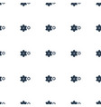 gear icon pattern seamless white background vector image vector image