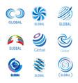 global set vector image