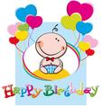 happybirthdayBoy vector image