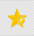 star icon feather icon vector image