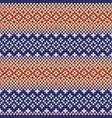 webbing seamless beaded pattern design vector image