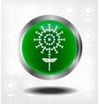 Green icons vector image