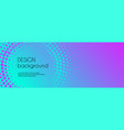 abstract colorful gradient banner template vector image vector image