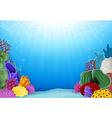 Beautiful Underwater World vector image vector image