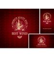 best wines vector image vector image