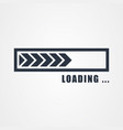 loading icon loading vector image vector image