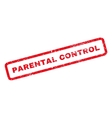 Parental Control Rubber Stamp vector image vector image