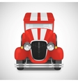 Retro car icon vector image vector image