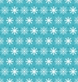 Seamless Christmas pattern with xmas snowflakes vector image
