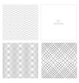 set-pattern-square-four vector image vector image