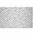 shiny white brick wall vector image