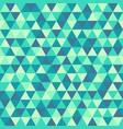 vintage geometry pattern retro color in funny vector image vector image