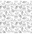 a seamless decorative summer pattern vector image