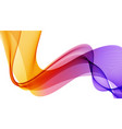 abstract background with orange and purple vector image vector image