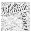bedrooms ideas Word Cloud Concept vector image vector image