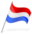 flag of Holland vector image vector image