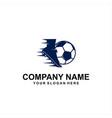 foot ball logo vector image