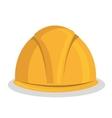 helmet construction tool device icon vector image