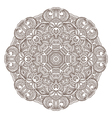 Ornamental round lace patternarabesque designs vector image vector image