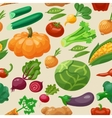 Vegetables Seamless Pattern vector image vector image