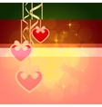 Wonderful Valentines background vector image vector image