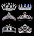 A fashion collection jewelry tiaras