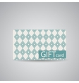 Abstract Beautiful Gift Card Design vector image vector image